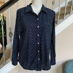 Gap Button Front Shirt Size XL